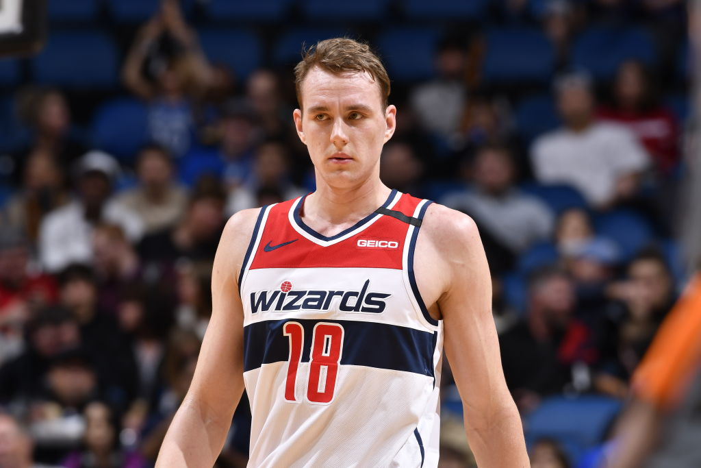 Anzejs Pasecniks of the Washington Wizards
