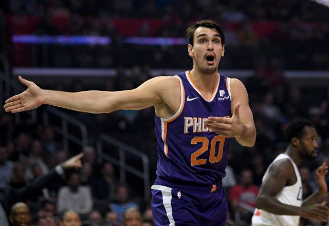 Dario Saric of the Phoenix Suns