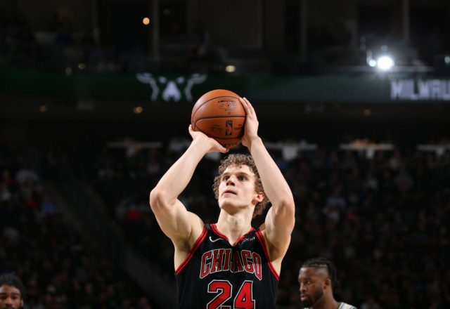 Lauri Makkanen of the Chicago Bulls