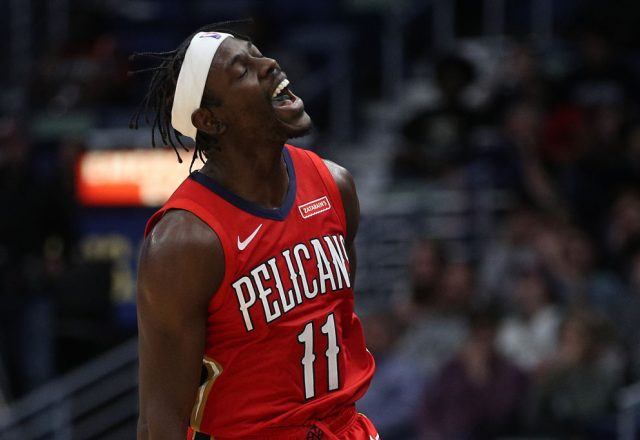 Jrue Holiday of the New Orleans Pelicans