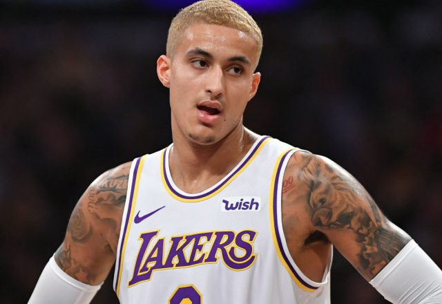 Kyle Kuzma of the Los Angeles Lakers