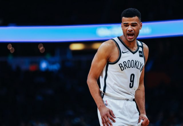 Timothe Luwawu-Cabarrot of the Brooklyn Nets
