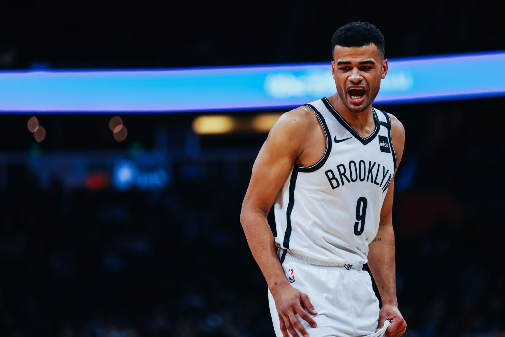 Timothe Luwawu-Cabarrot of the Brooklyn Nets