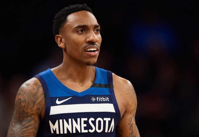 Jeff Teague of the Minnesota Timberwolves