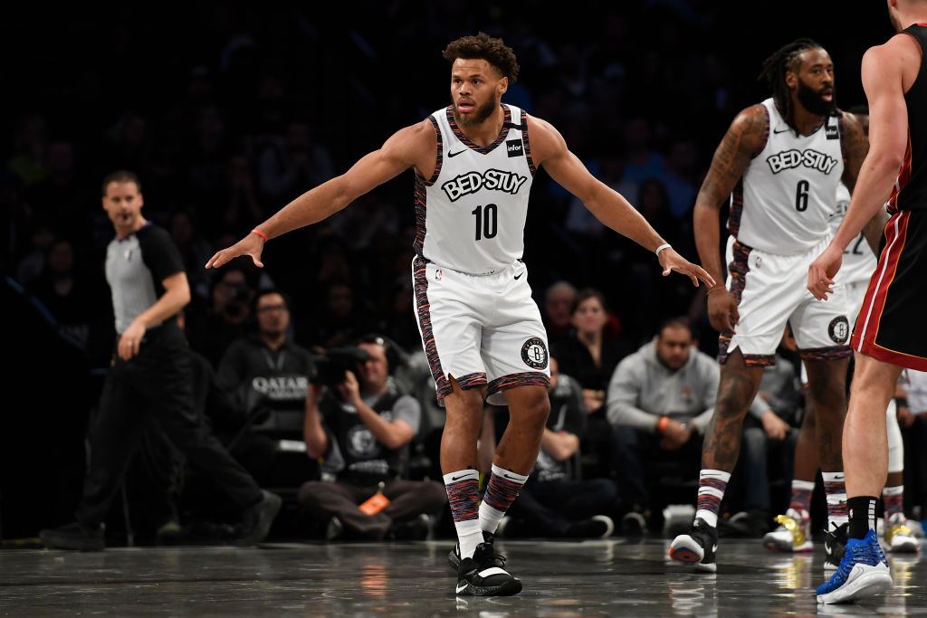 Justin Anderson of the Brooklyn Nets