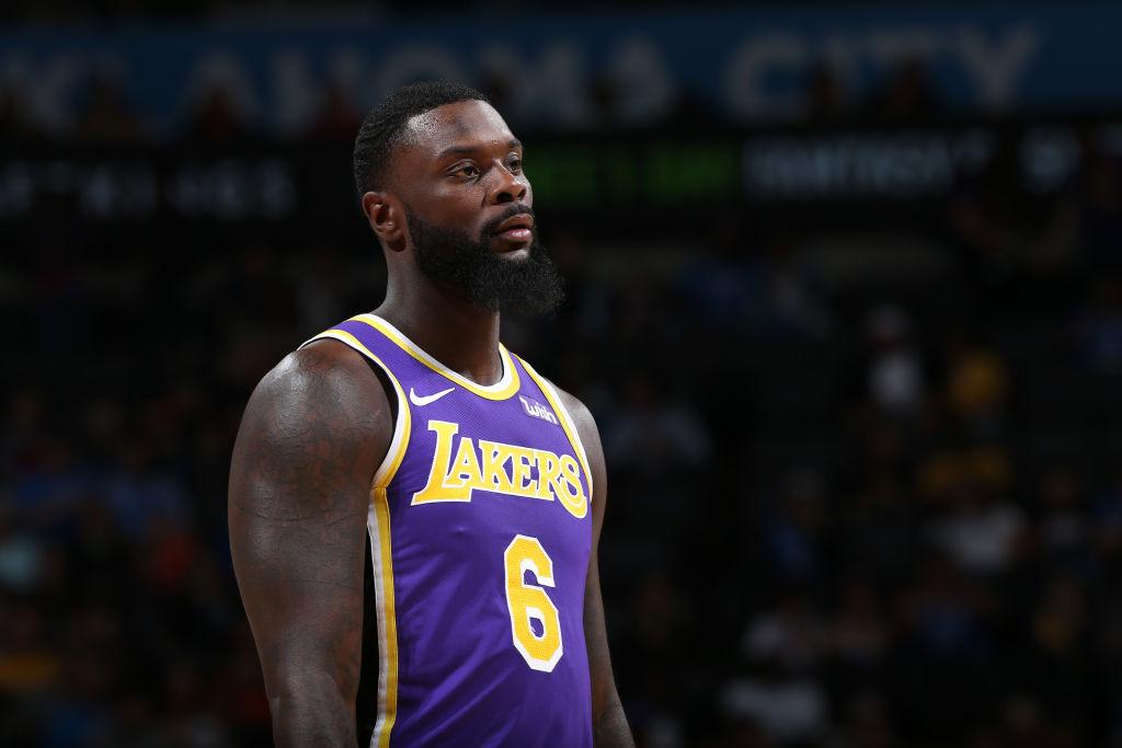 Lance Stephenson of the Los Angeles Lakers