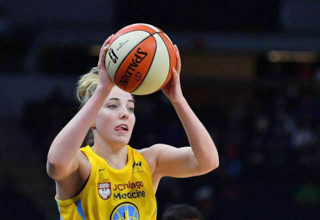 Katie Lou Samuelson of the Chicago Sky
