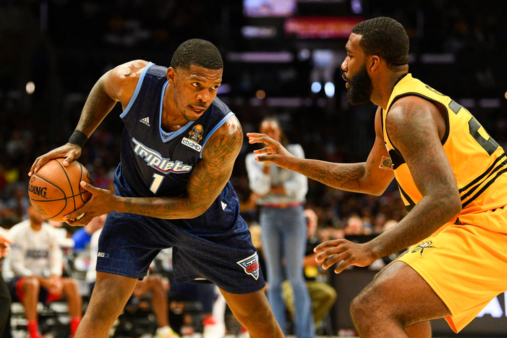 Joe Johnson of the BIG3
