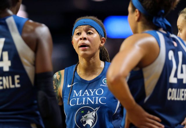 Seimone Augustus of the Minnesota Lynx