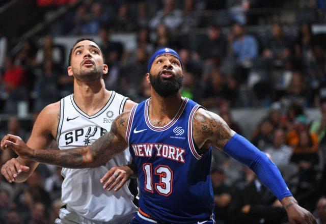 Marcus Morris of the New York Knicks