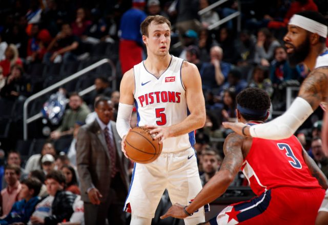 Luke Kennard of the Detroit Pistons