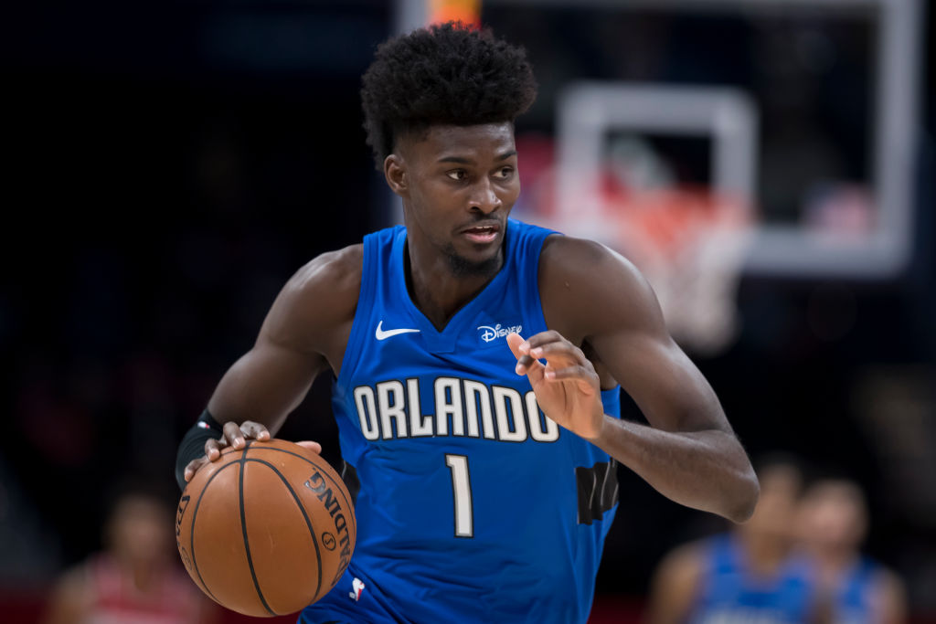 Jonathan Isaac of the Orlando Magic