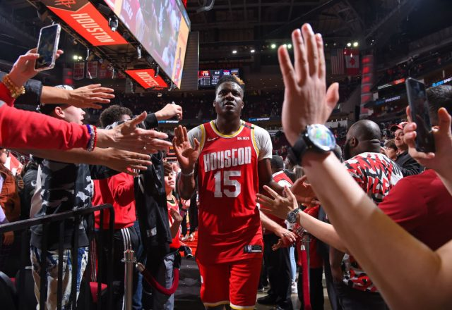 Clint Capela of the Houston Rockets