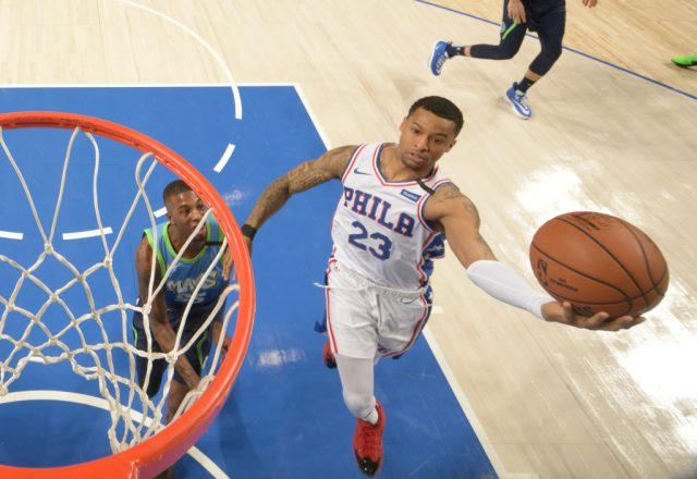Trey Burke of the Philadelphia 76ers