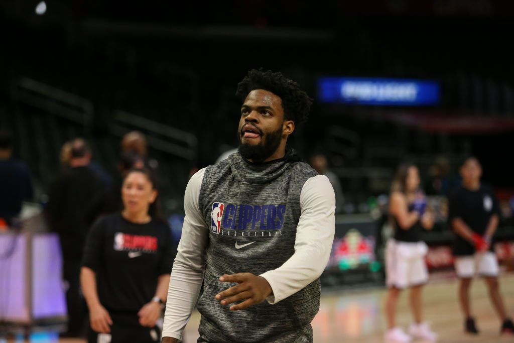 Derrick Walton Jr. of the Los Angeles Clippers