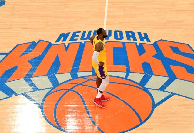 LeBron James at Madison Square Garden
