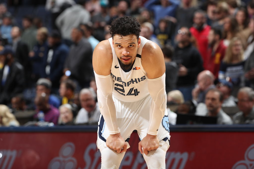 Dillon Brooks of the Memphis Grizzlies