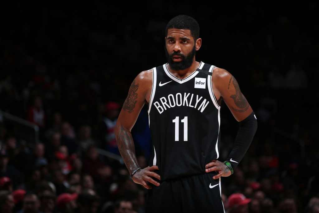 Kyrie Irving of the Brooklyn Nets