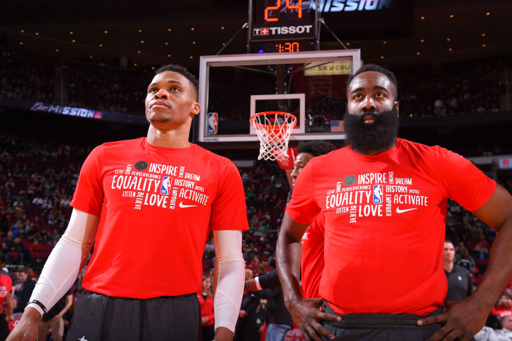 'Pretty Scary': James Harden, Russell Westbrook Dominate Boston
