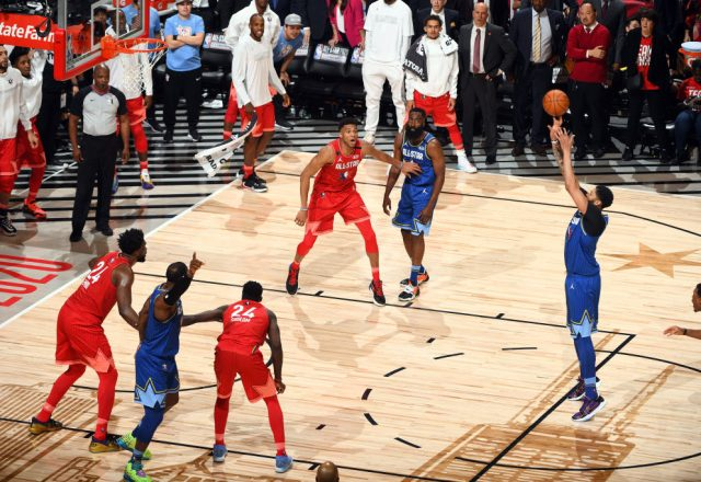 Anthony Davis in the All-Star Game