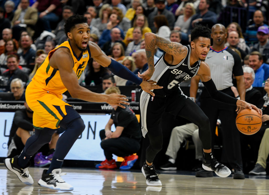 Post Up: Spurs Defeat Jazz To Keep Playoff Hopes Alive | SLAM