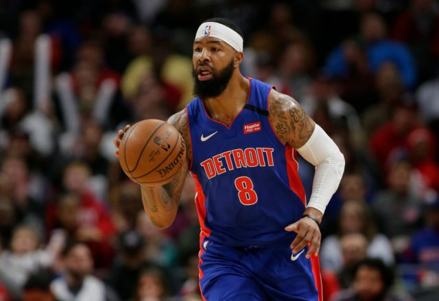 Markieff Morris of the Detroit Pistons