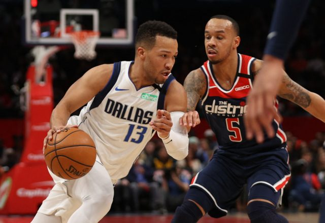 Jalen Brunson of the Dallas Mavericks