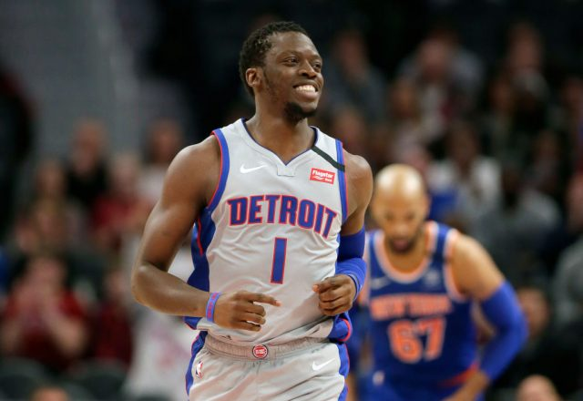 Reggie Jackson of the Detroit Pistons