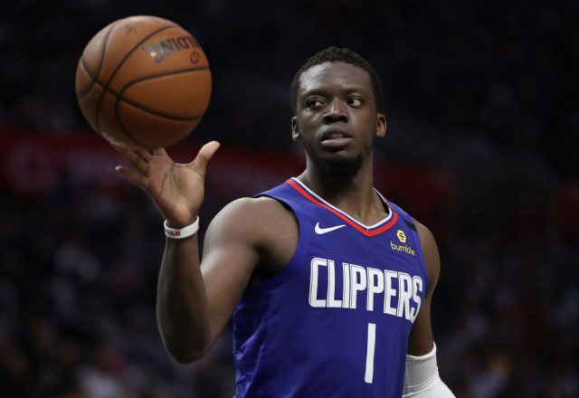 Reggie Jackson of the Los Angeles Clippers