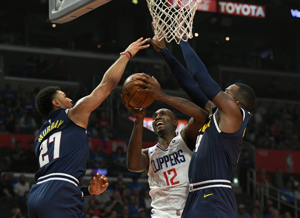 Luc Mbah a Moute of the Los Angeles Clippers
