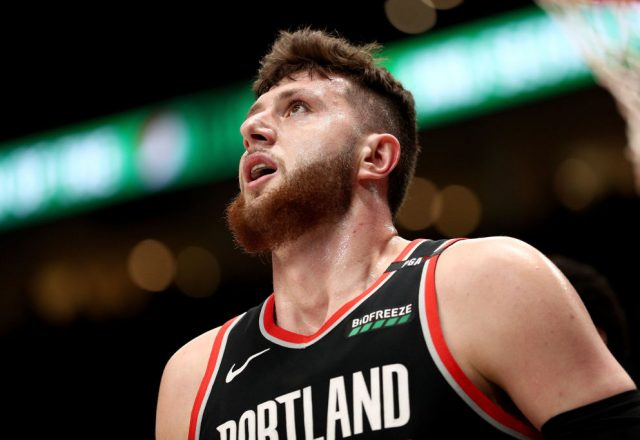 Jusuf Nurkic of the Portland Trail Blazers