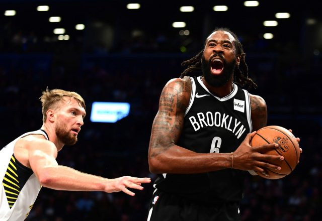 DeAndre Jordan of the Brooklyn Nets