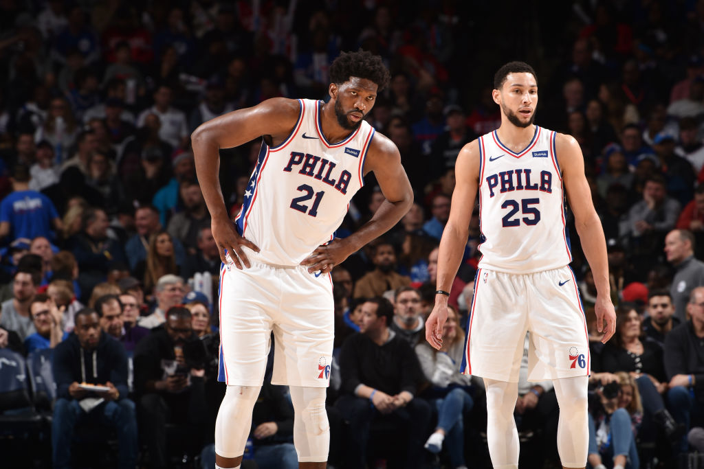 Joel Embiid out vs. Knicks; shoulder still being evaluated