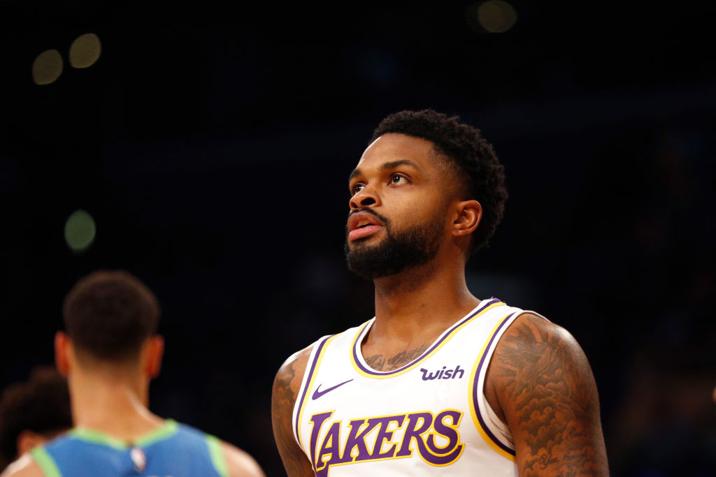 Lakers waive guard Troy Daniels, opening up a roster spot