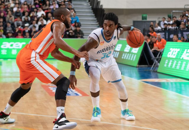 O.J. Mayo of the Taipei Fubon Braves