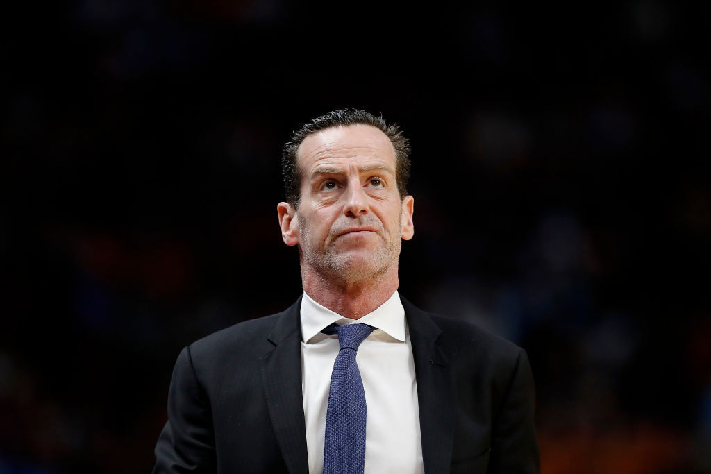 Kenny Atkinson of the Brooklyn Nets