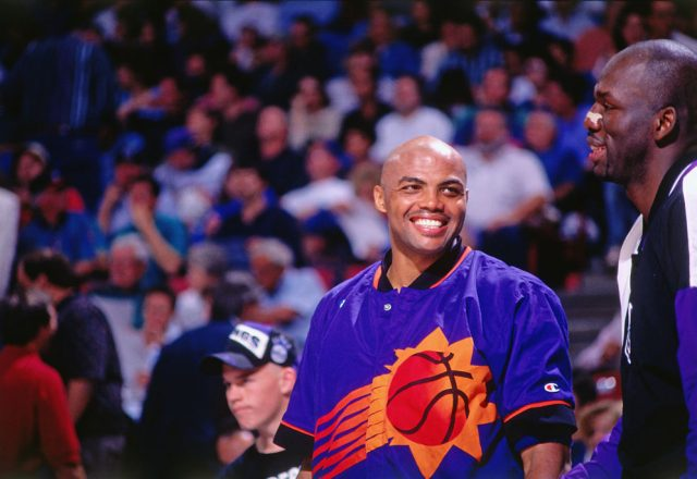 Charles Barkley of the Phoenix Suns