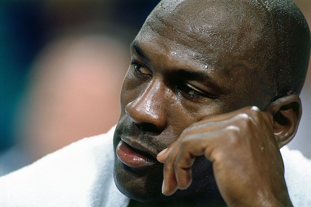 Michael Jordan Dominated Warriors Practice Prior to 1995 Return