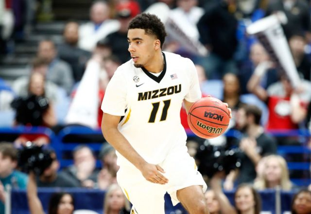 Jontay Porter of the Missouri Tigers