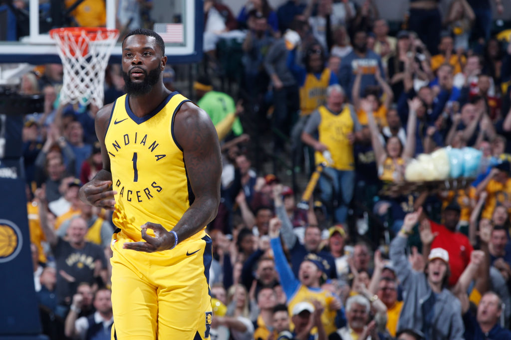Lance Stephenson of the Indiana Pacers