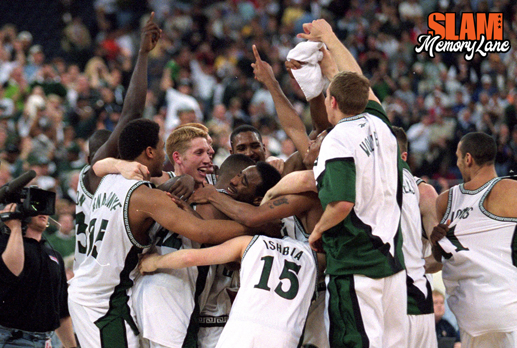 MEMORY LANE: Michigan State's National Title in 2000