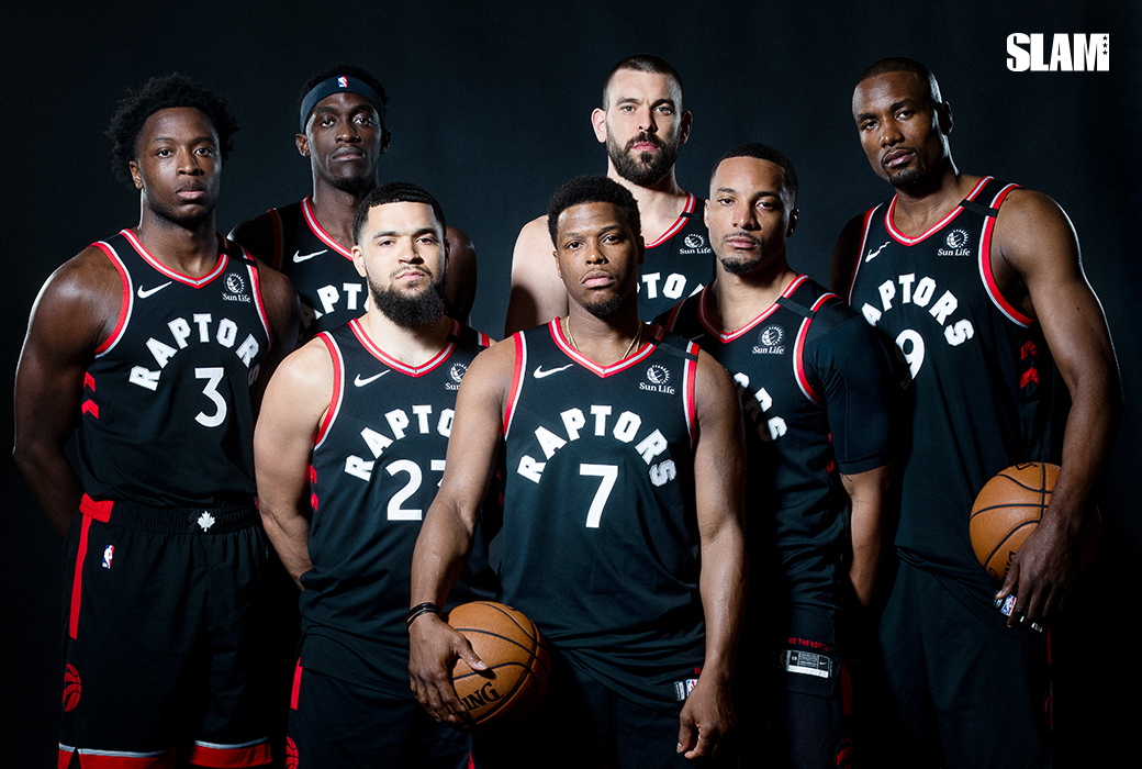 The Toronto Raptors Cover SLAM 227