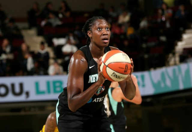 Tina Charles of the New York Liberty