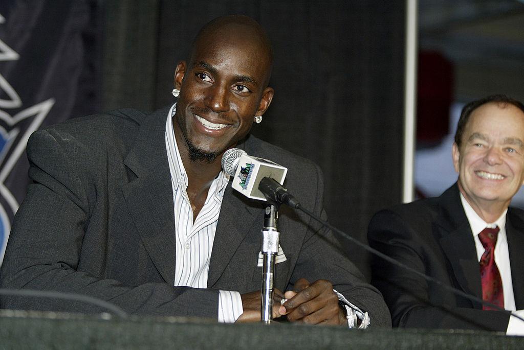 Kevin Garnett Calls Timberwolves Owner Glen Taylor a