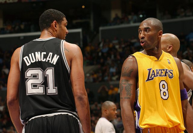 Kobe Bryant, Tim Duncan