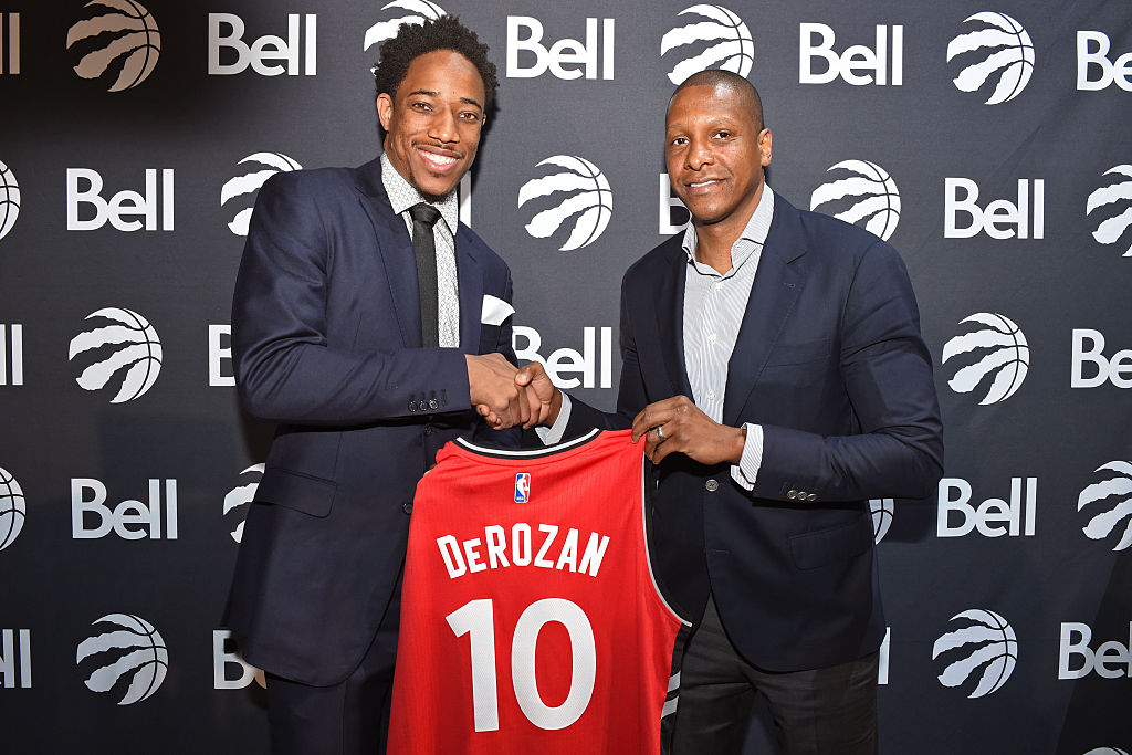 Masai Ujiri: 'Plenty of Work to Be Done' on DeMar DeRozan Relationship