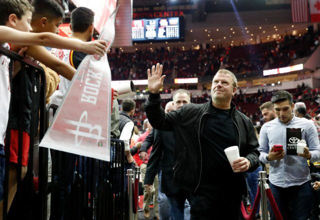 Tilman Fertitta of the Houston Rockets