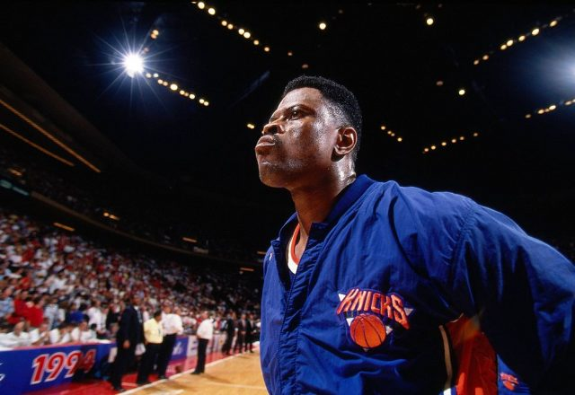 Patrick Ewing of the New York Knicks