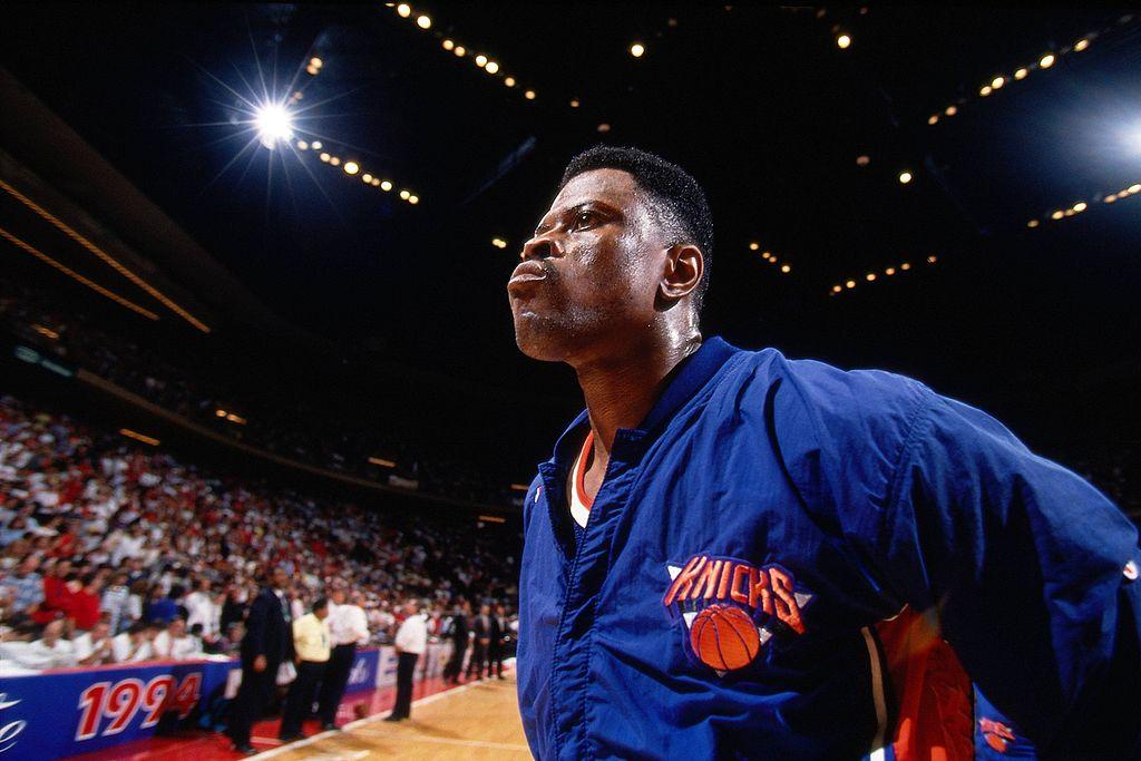 Patrick Ewing of the New York Knicks