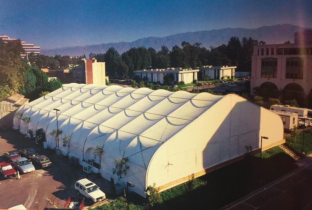 Le fameux Jordan Dome à dans les studios de la Warner